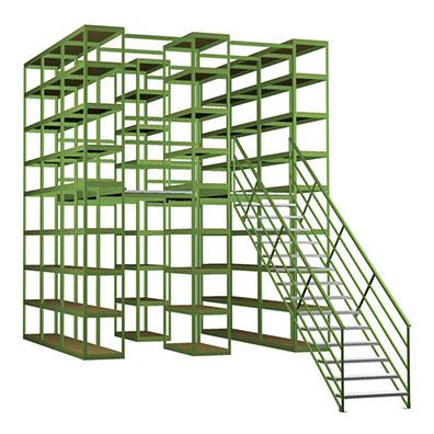 industrial catwalk mezzanines