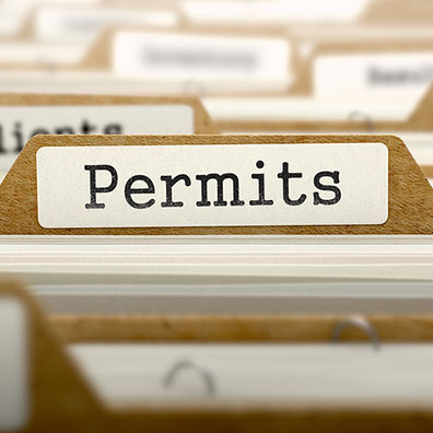 commercial & industrial permit processing