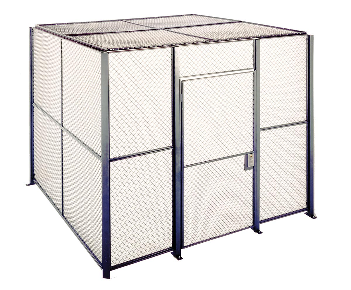 Industrial Wire Partitions & Cages | QMH Inc.