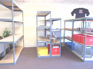 used-boltless-shelving
