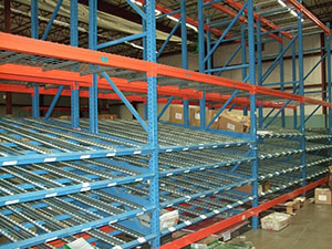 used-carton-flow-racks