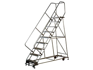 used-steel-rolling-ladders