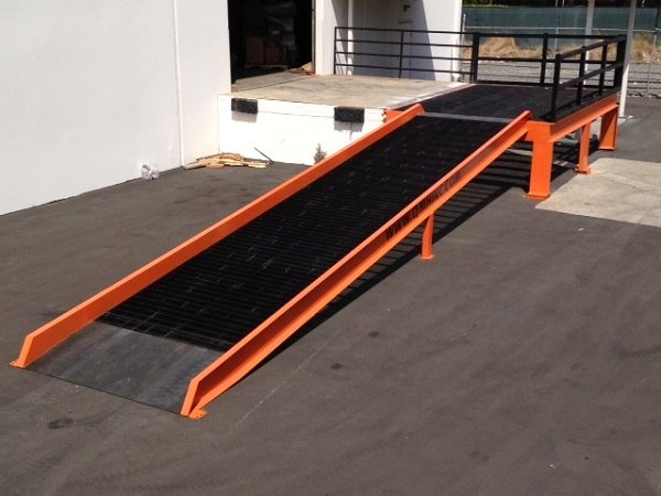 Loading Dock Access Ramps Qmh Inc
