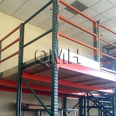 Pallet rack platforms qmh inc for Pallet platform